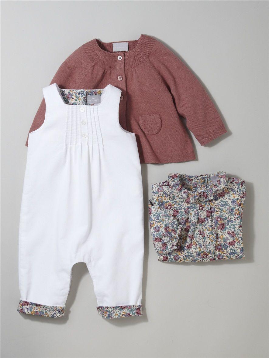 Silhouette Baby S Wool Cotton Cardigan Babies Liberty Shirt
