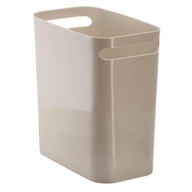 Small Plastic Slim Trash Can Garbage Bin 12 High Garbage
