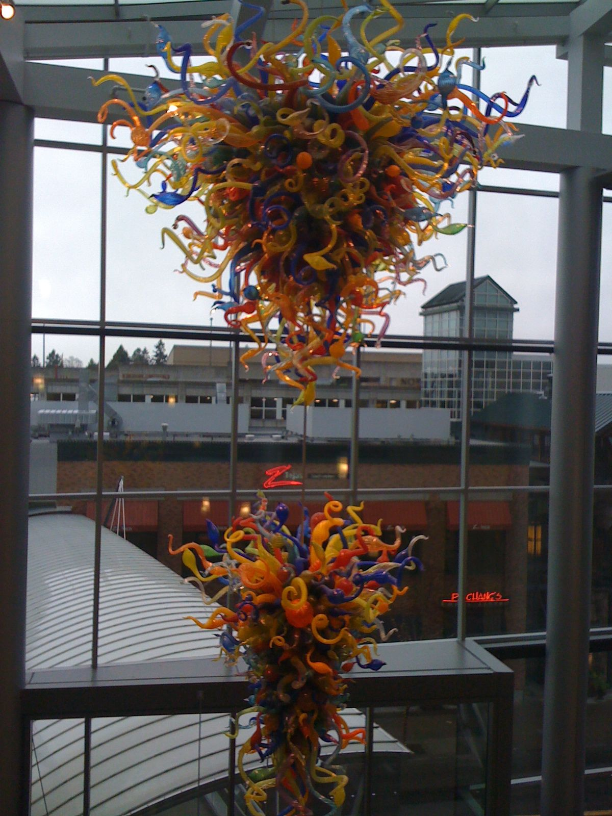 COMMENT BELOW: if you have seen Dale Chihuly Glass #art in Bellevue, Washington, by The Container Store