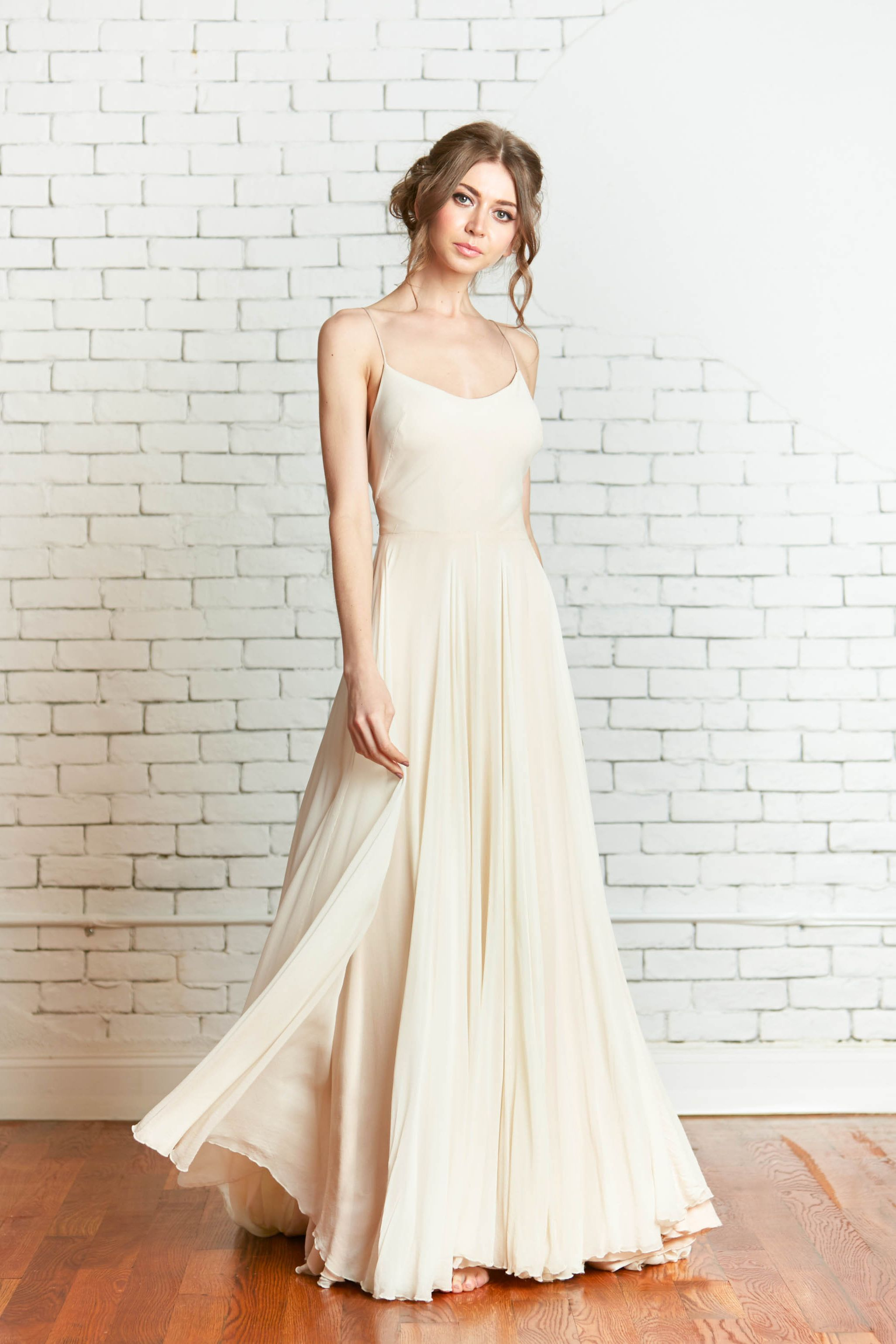Wedding dresses brooklyn  Rebecca Schoneveld Bridal Gown The VivianSage Gown handmade in