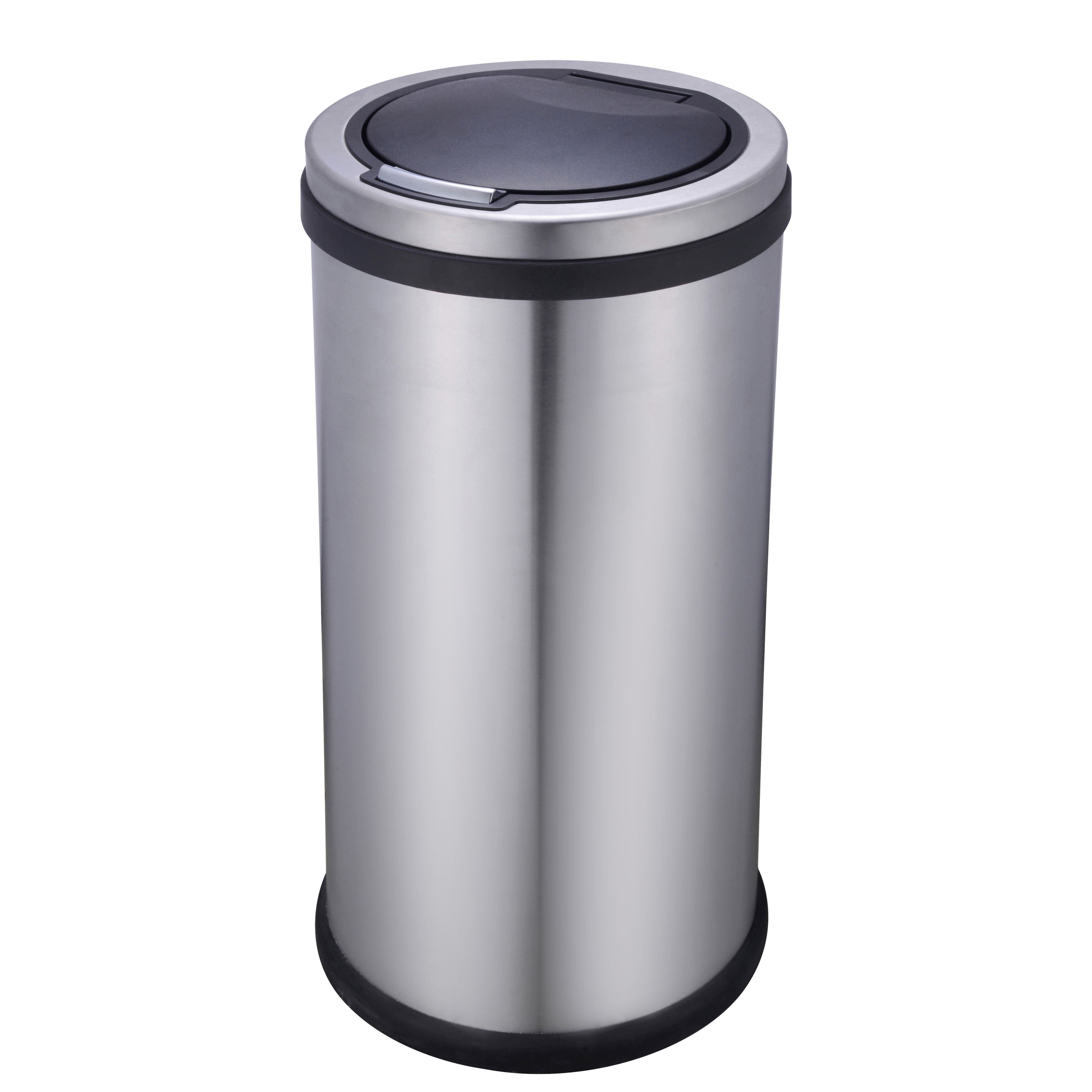 Cooke Lewis 30 Kg Stainless Steel Touch Top Kitchen Bin B Q For All Your Home And Garden Supplies Advice On The Latest Diy Trends