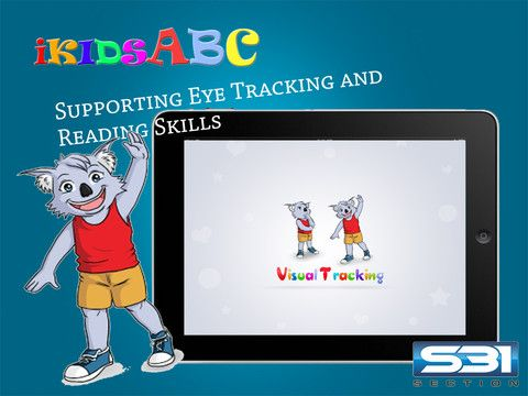 Learning to Read with Byron Visual Tracking Activities