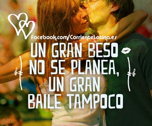 Un gran beso no se planea, un gran #baile tampoco... #FelizViernes