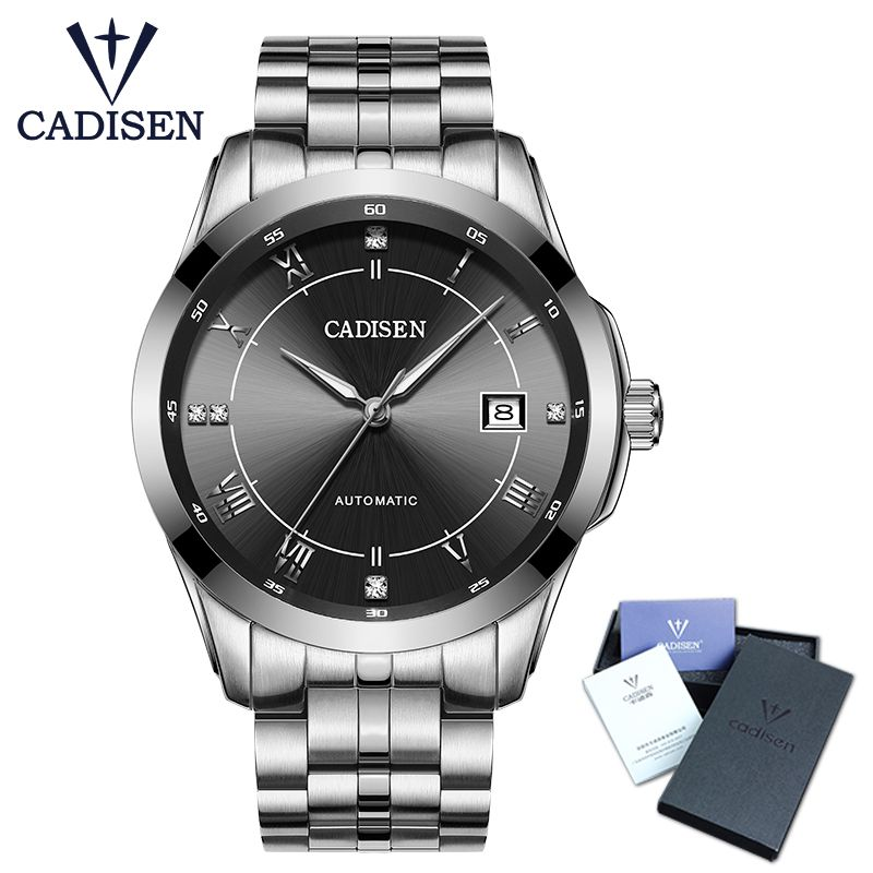 667a3cbf3e5 Click to Buy    Hot Sale Cadisen Mens Watches Top Luxury Sapphire ...