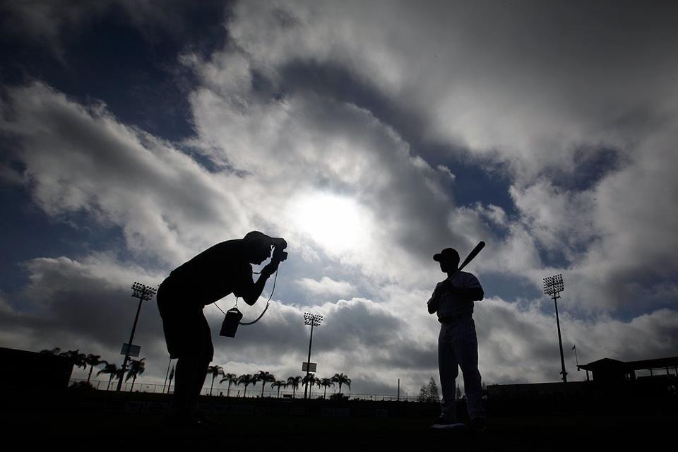 Que belleza de imagen para el Spring Training, todo Florida lleno de equipos haciendo scouting, comienza a entrar la primavera y se empieza a respirar el aroma a beisbol
