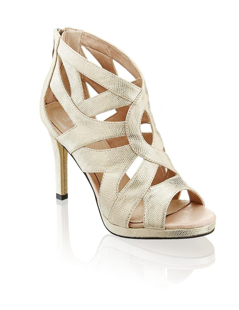 Smh Sandalette Gold Gratis Versand Schuhe Sandalen