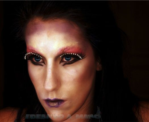 maquillaje para #carnavales #mascara terror Maquillaje y Belleza