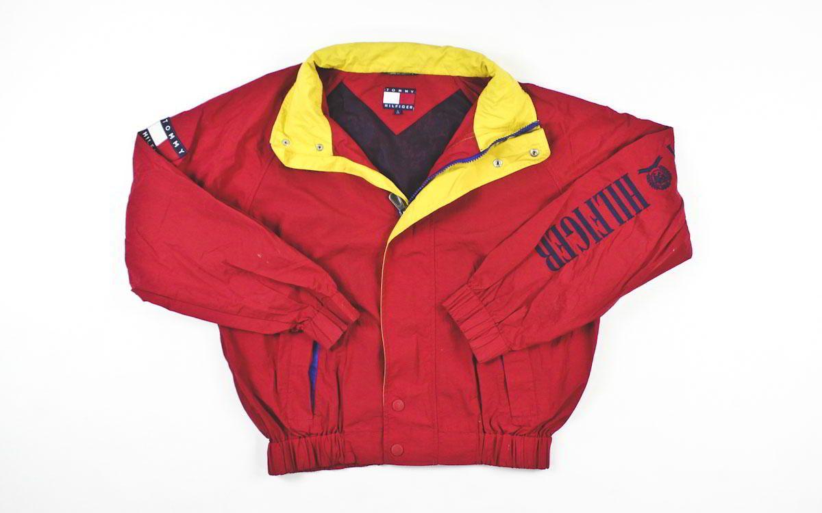 Vintage Tommy Hilfiger Pullover Jacket Sz L – F As In Frank Vintage