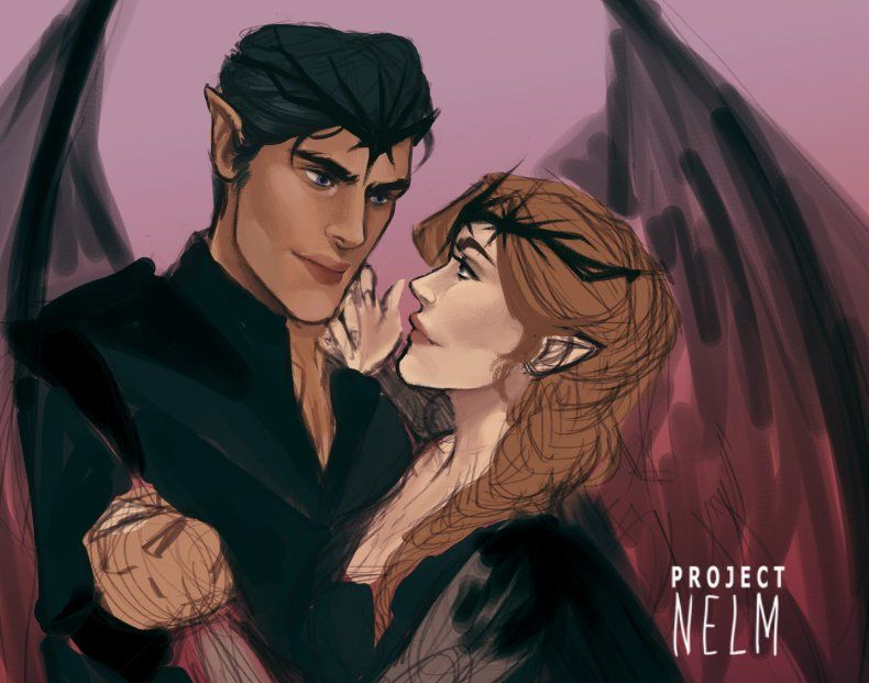 Feysand WIP by ProjectNelm. ACOMAF. ACOWAR. A Court of Mist and Fury. A Court of Wings and Ruin. Sarah J Maas. Feyre and Rhys