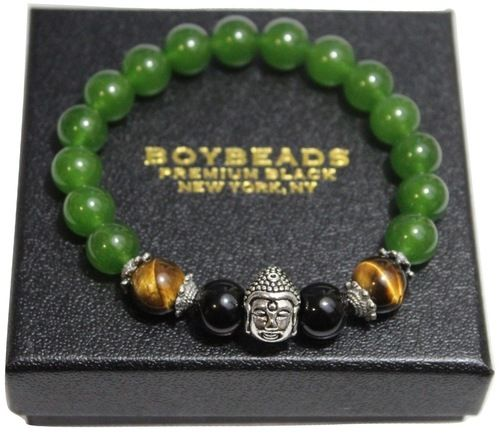 gemstone mens p bead onyx on black bracelets men pupikjewelry jewelry etsy your bracelet design from