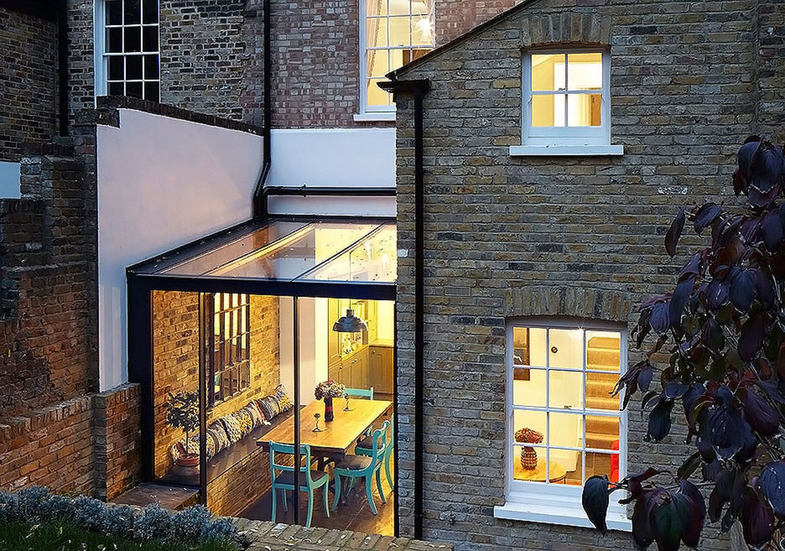43++ Glass extension terraced house trends