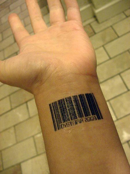 Perhaps Cliche But I Do Like The Concept Tatuaje Codigo De