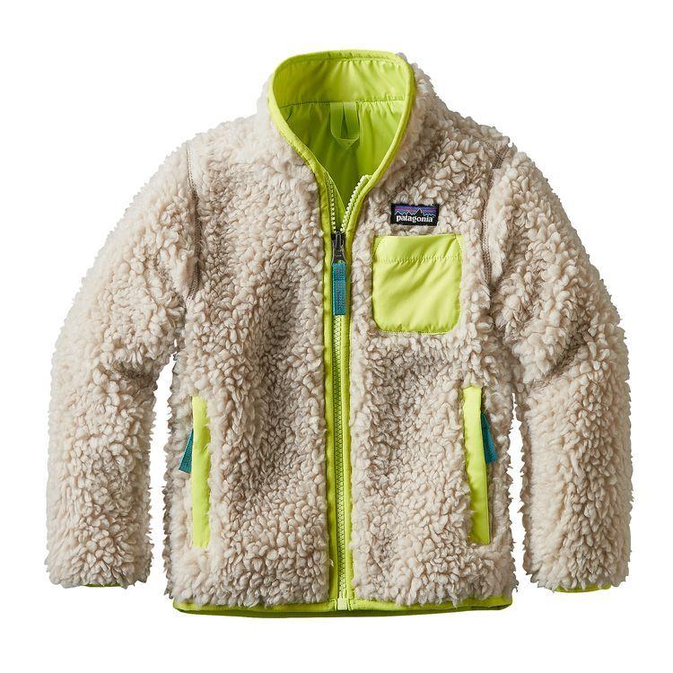 Baby Retro X 174 Jacket Natural W Glare Green Ntgg