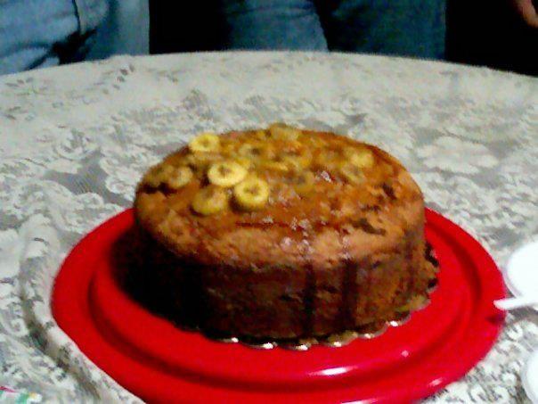 Torta de cambur (Pan de banana)