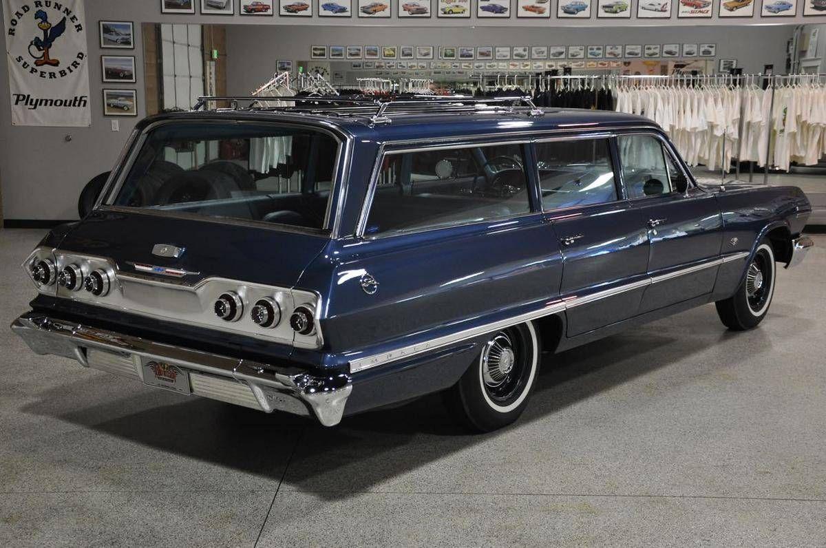 1963 Chevrolet Impala station wagon | Cars Wagons | Pinterest ...