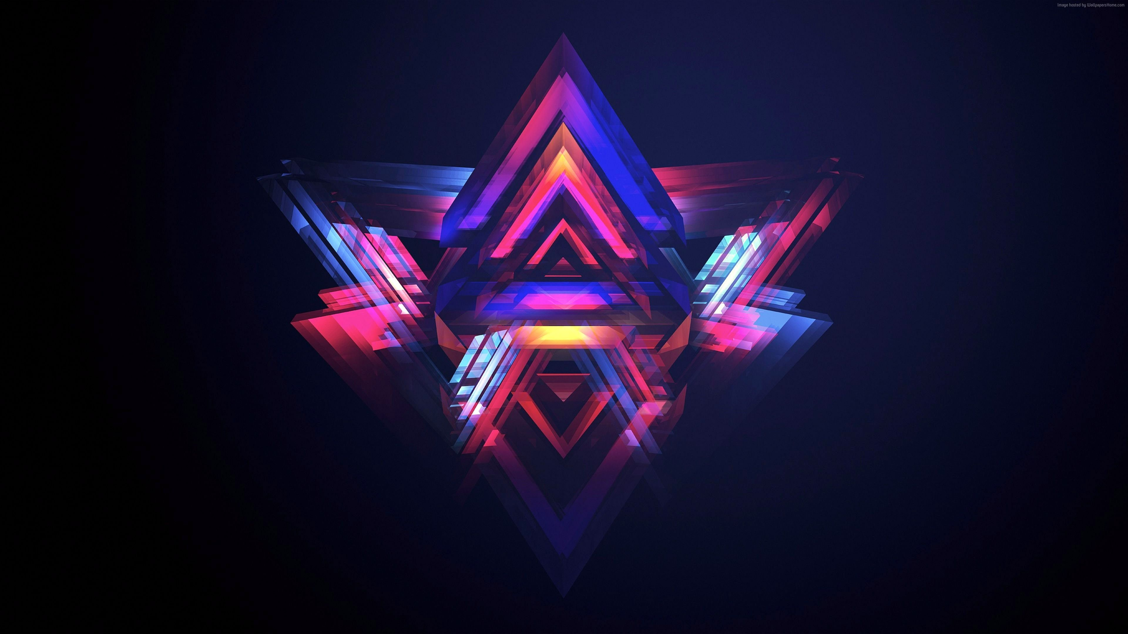 Hd Abstract Polygon Cool Desktop Backgrounds 2048x1152 Wallpapers Abstract Wallpaper