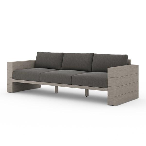 Outdoor Lounging Leroy Outdoor Sofa Weathered Grey Outdoor Sofa Top Sofas Sofa