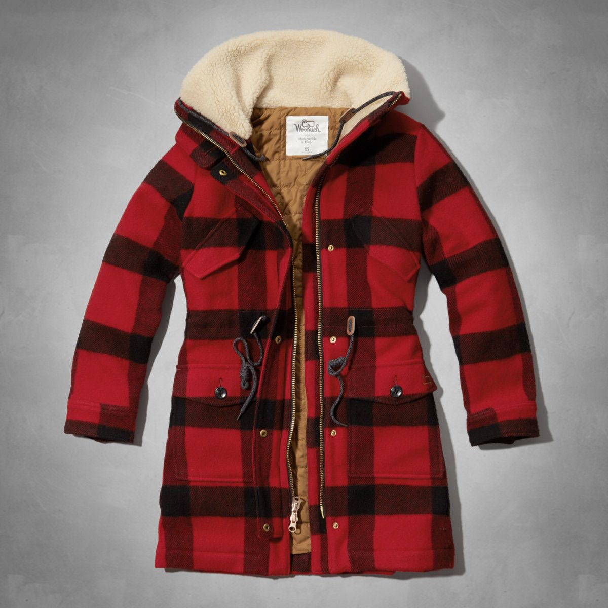 woolrich kristie plaid rain jacket. Black Bedroom Furniture Sets. Home Design Ideas