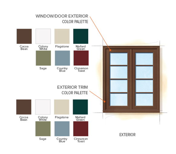 Country Home Exterior Color Schemes - Interior Design