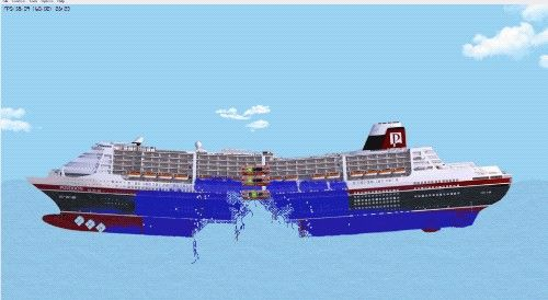 Floating Sandbox is a ship sinking simulator that allows you