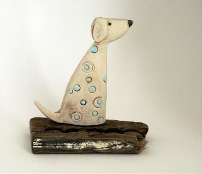 Sitting Dog Shirley Vauvelle Quot A Z About Ceramic