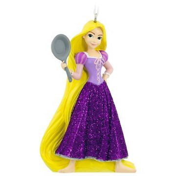 Disney Princess Jasmine/Rapunzel Resin Christmas Ornament by Hallmark - Assorted Styles