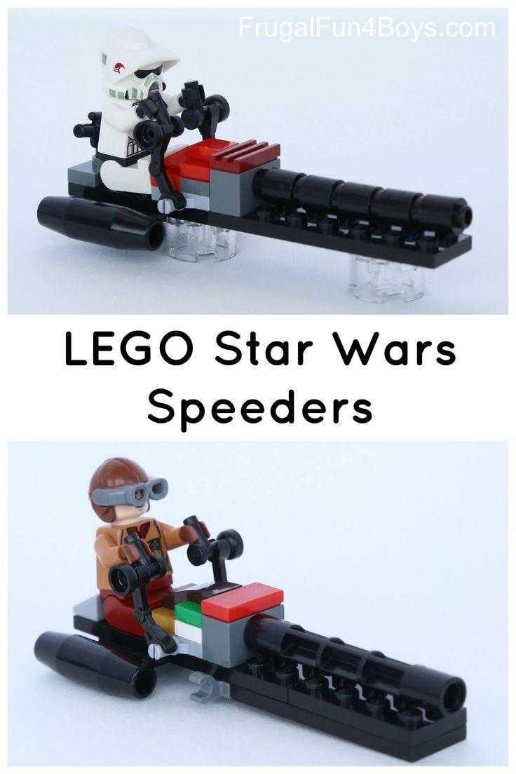 lego star wars barc speeder instructions