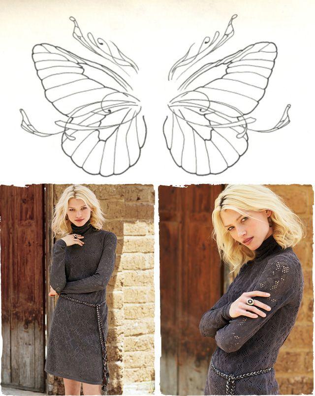 #butterfly #lace #pattern