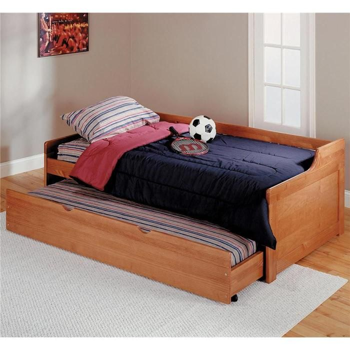 Twin Platform Bed With Trundle Nebraska Furniture Mart Calvins