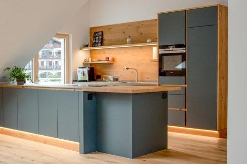 Küche Linoleum / Eiche, Bora Küche holzboden, Küche