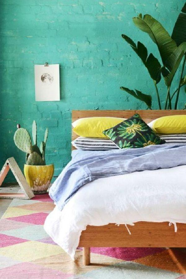 calidos dormitorios con materiales naturales piedra madera