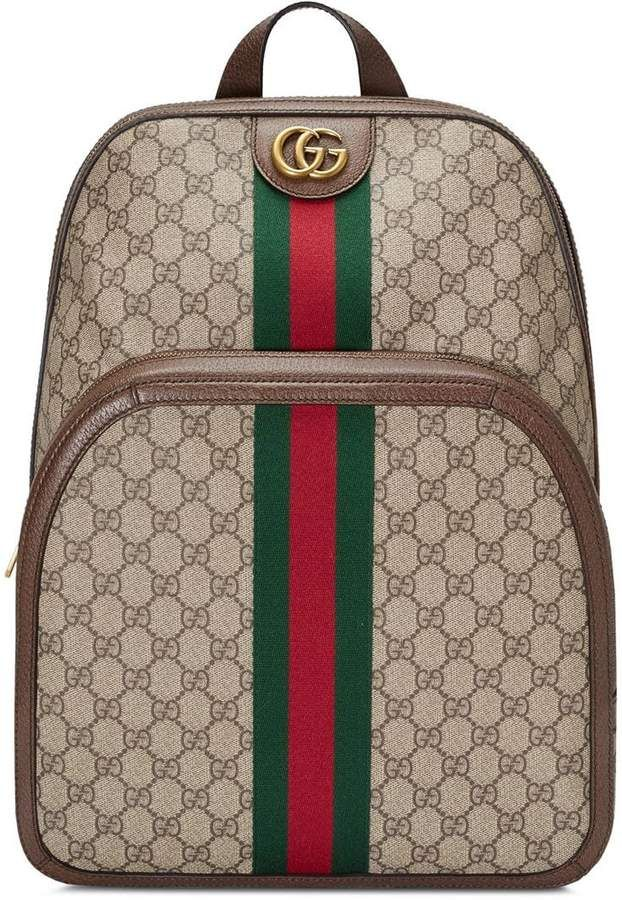 Gucci Ophidia GG Medium Backpack   Designer Handbags   Gucci ... 61c6cf601a