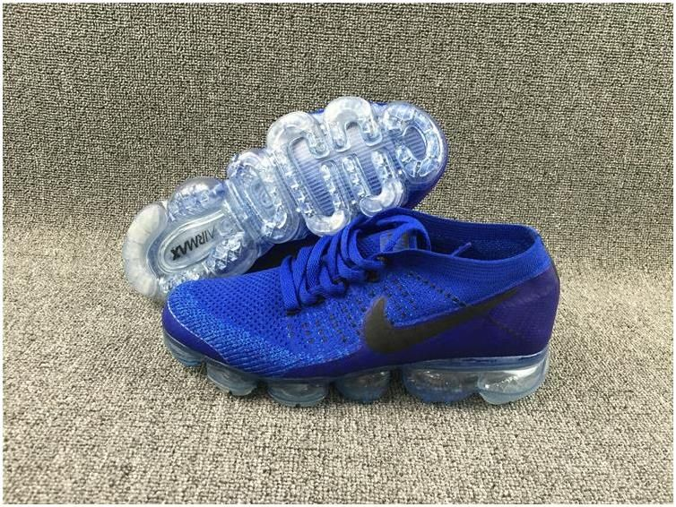 sale retailer f6169 9307f Nike Flyknit Air VaporMax 2018 Men s Running Shoes Royal blue Black0