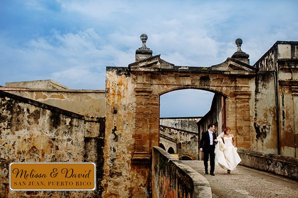 Formal Destination Wedding In Old San Juan Pr