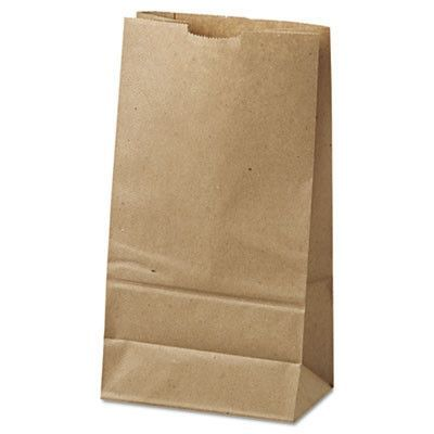 BAG,PAPER GROCERY,6#,BN