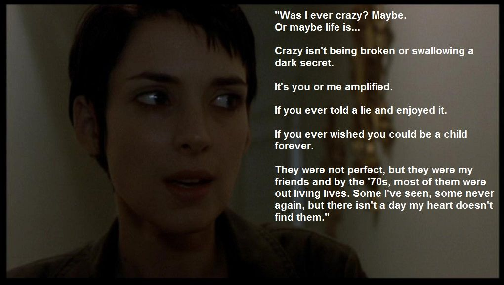 Girl Interrupted   Quote. | books, movies, shows & music