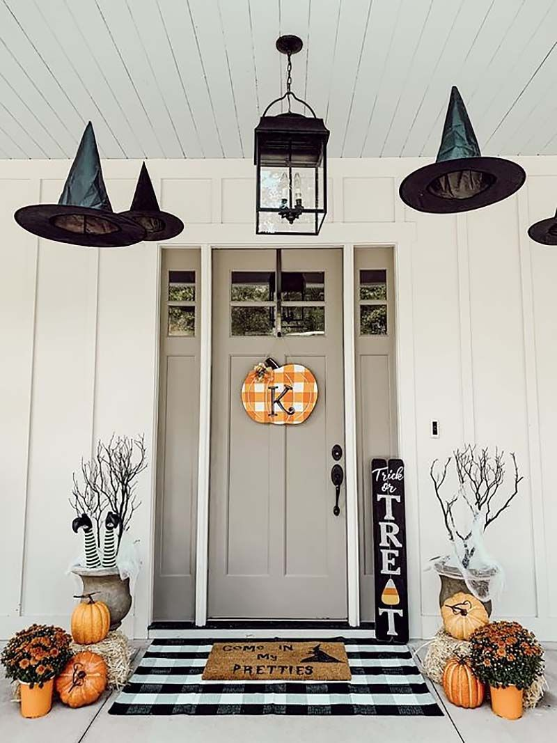 18 Last-Minute DIY Halloween Decorations For A Spooky Outdoors #halloweendecorations