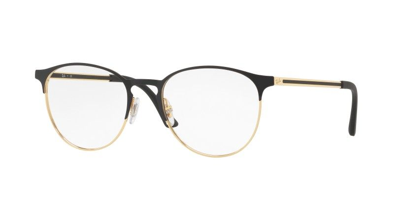 lunette de vue ray ban or