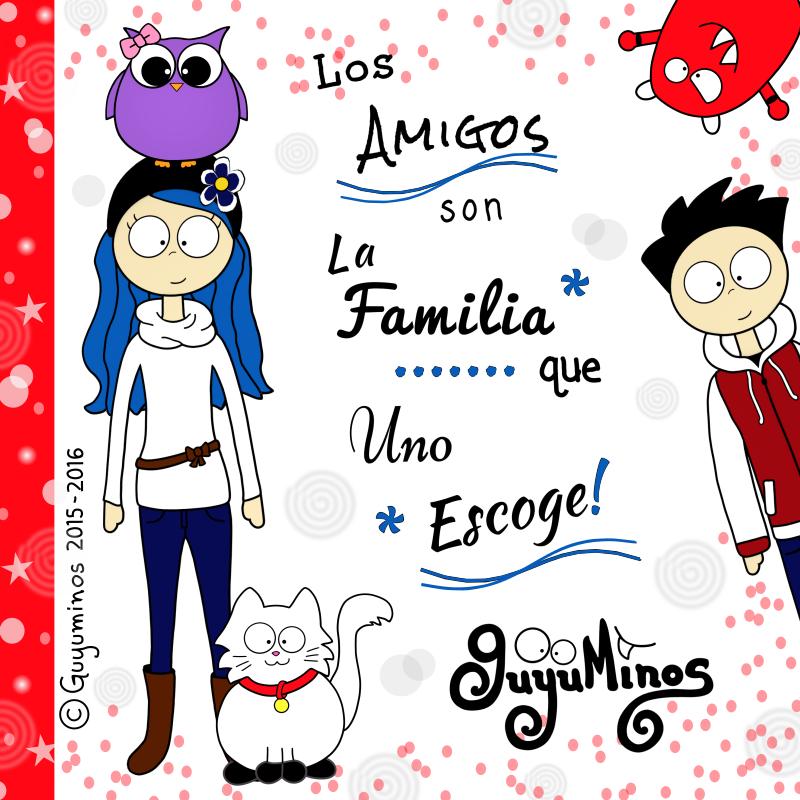 Gracias por ser parte de la Familia  #guyuminos #amigos #familia  http://guyuminos.blogspot.mx/2016/01/los-amigos-son-la-familia-que-uno-escoge.html