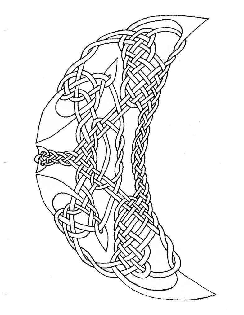 celtic-knot-coloring-pages-435 | Celtic | Pinterest | Celtic knots ...