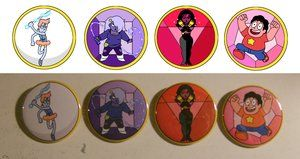 Steven Universe Buttons by ToonSkribblez