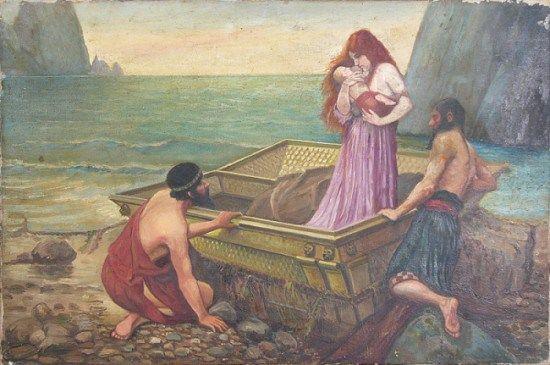 Perseo Y Dánae John William Waterhouse Perseo Y Medusa Furia De Titanes