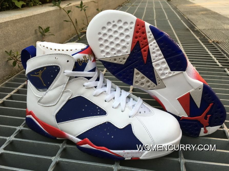 "https   www.womencurry.com tinker-alternate-air-jordan-7-white-metallic-gold-coindeep-royal-bluefire-red-cheap-to-buy.html  ""TINKER ALTERNATE"" AIR JORDAN 7 ... dad73d89f"