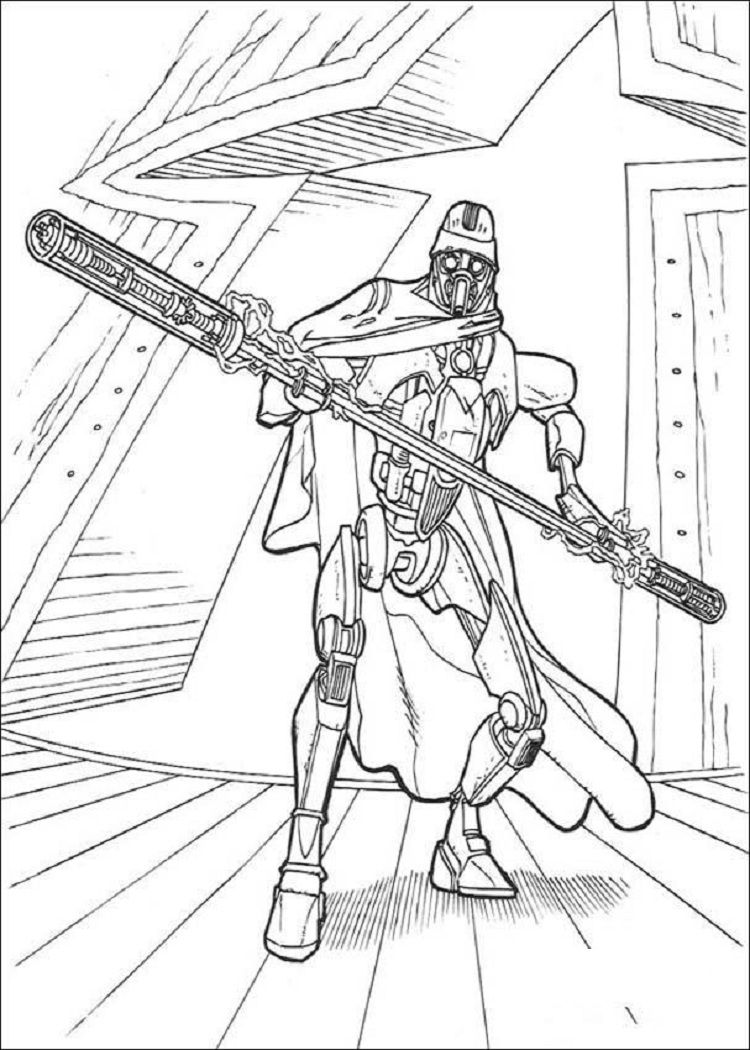 star wars droid coloring pages (With images) Star wars