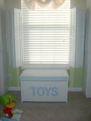 Brilliant Diy Window Seat On Toy Box Baby Nursery Diy Window Seat Creativecarmelina Interior Chair Design Creativecarmelinacom