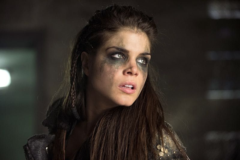 "THE 100 CW 2x16 ""Blood Must Have Blood Part Two"" #The100 Marie Avgeropoulos - Octavia Blake is mostly not my type, but here she turned out pretty"
