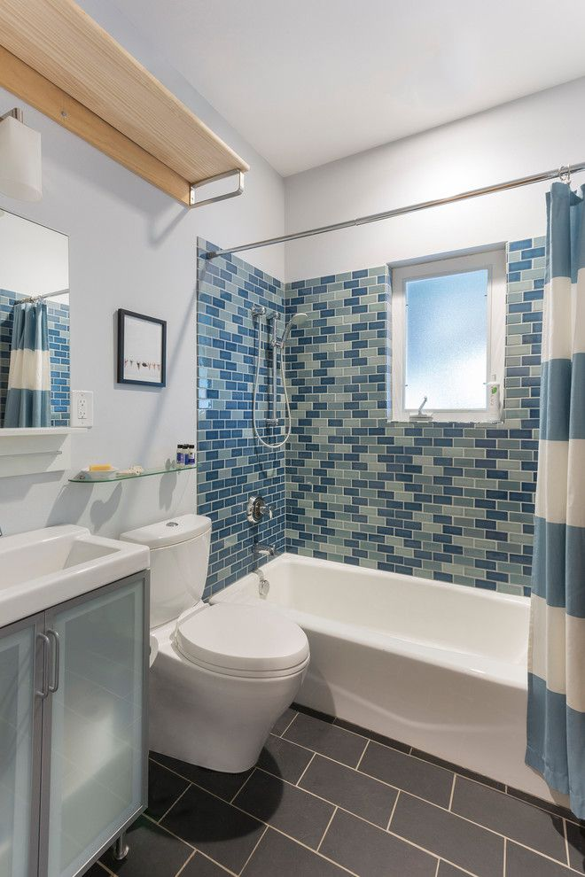 guest bathroom tile ideas. Good Looking Kohler Tub In Bathroom Contemporary With Toilet Next To Ikea Farmhouse Sink Alongside Guest Tile Ideas