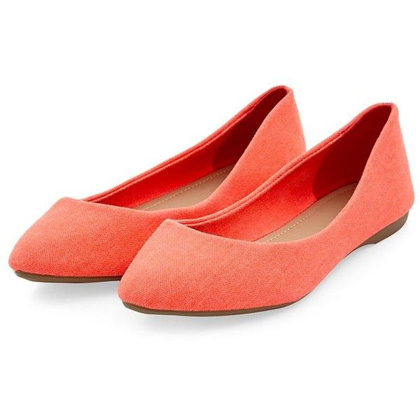 Coral Suedette studded flat shoes noYxYX