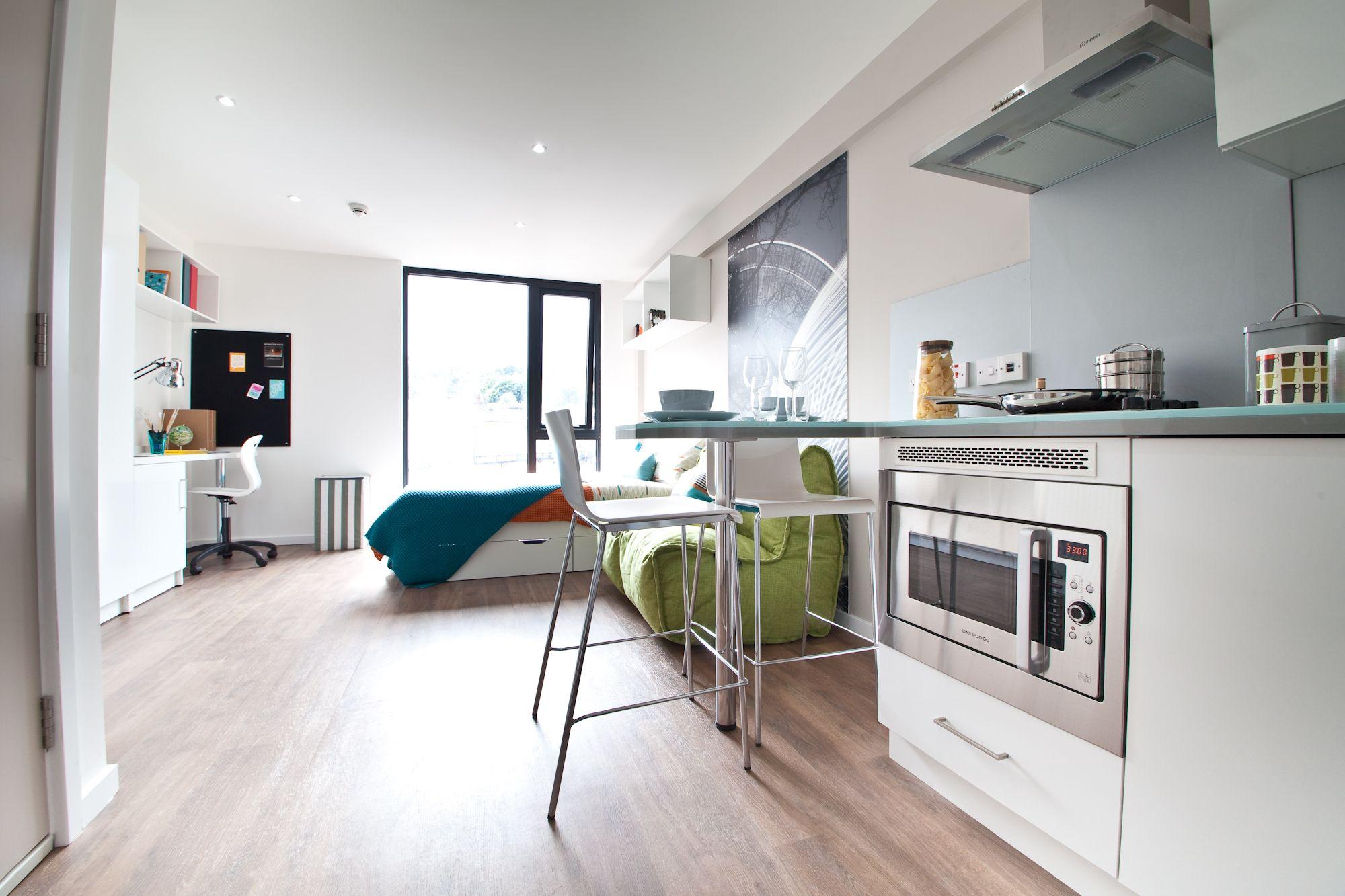 Studio Room At Edge Apartments Birmingham S Finest Student Accommodation Collegiate Ac