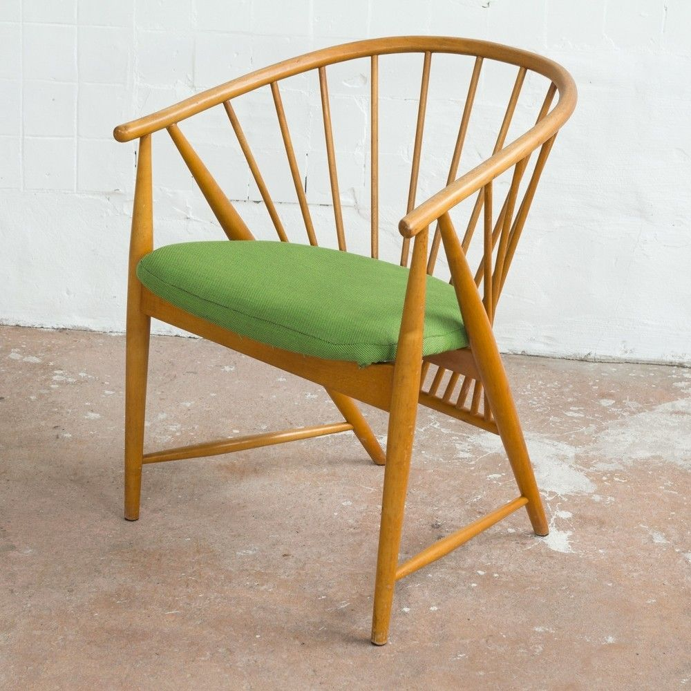 Sun Feather Chair By Sonna Ros N For N Ssj Stolfabrik Design  # Muebles Peter Behrens